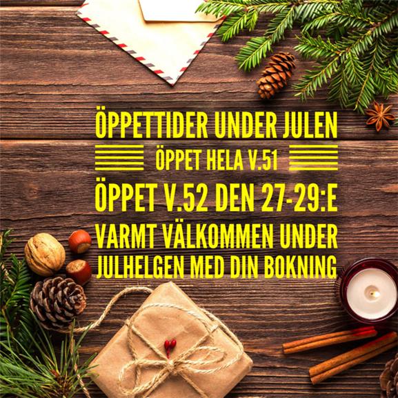Information gällande samtalstider vid julen