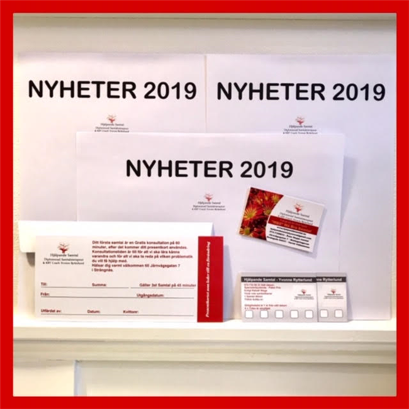 Nyheter 2019 🆕