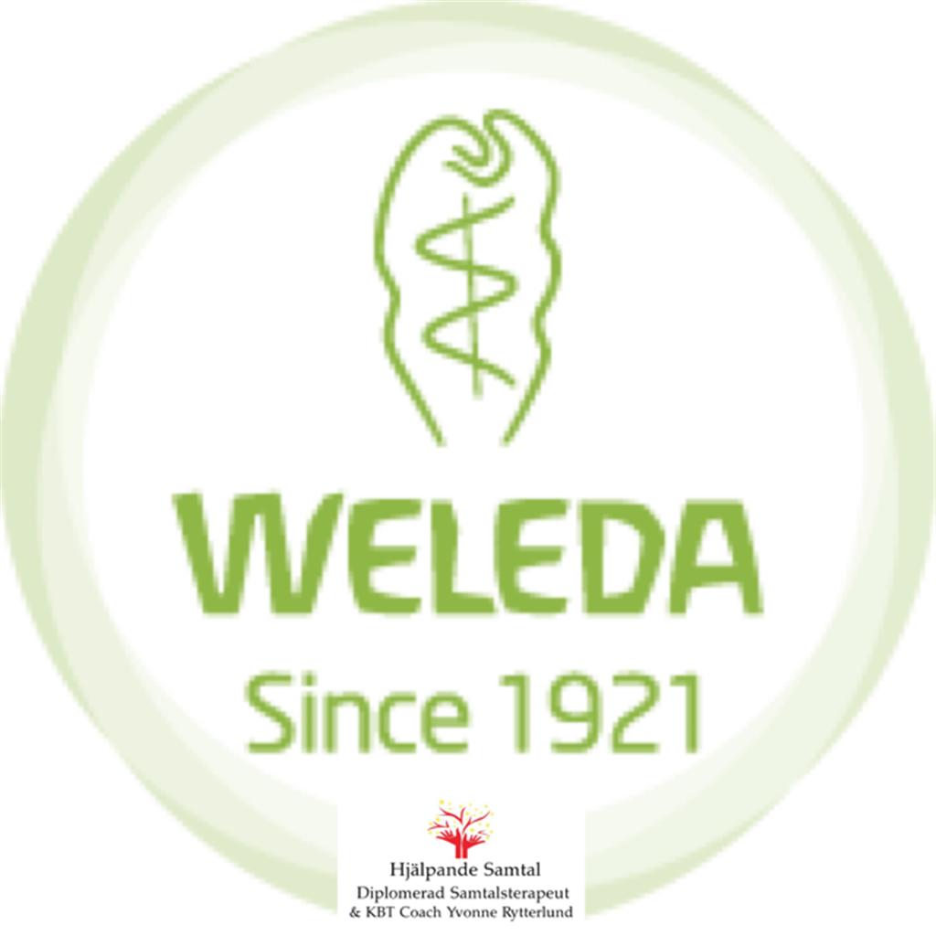 Nyhet - Nu är jag registrerad som återförsäljare hos Weleda.