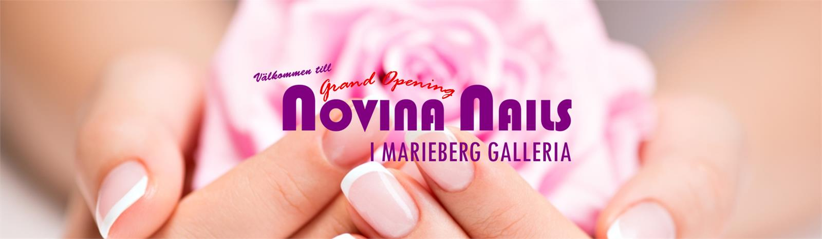 NOVINA NAILS i MARIEBERG GALLERIAN