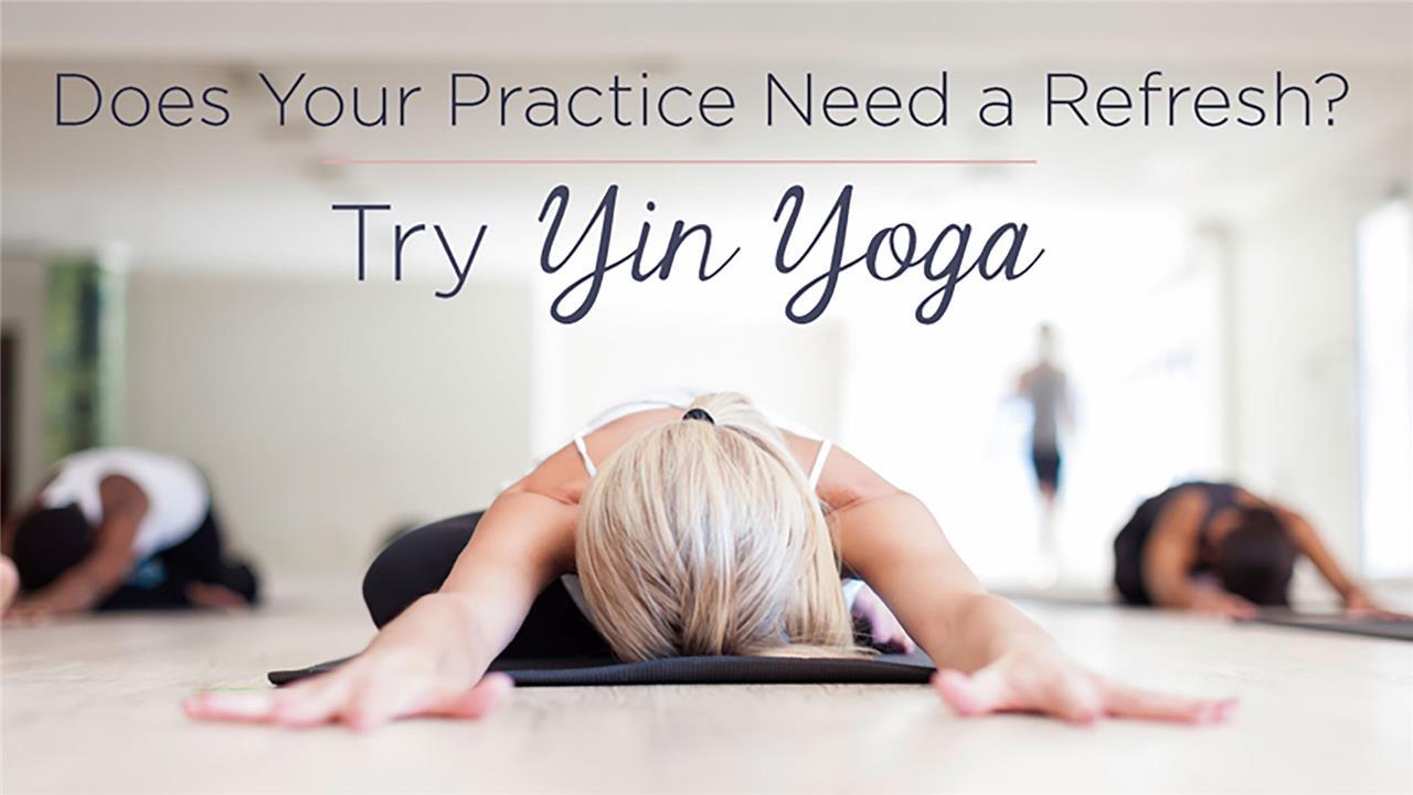 En termin Yin Yogaklass - start   1 oktober!