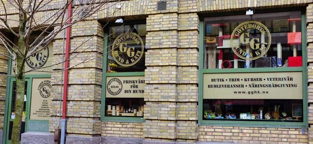 GG Göteborgs Hund & Katt butik