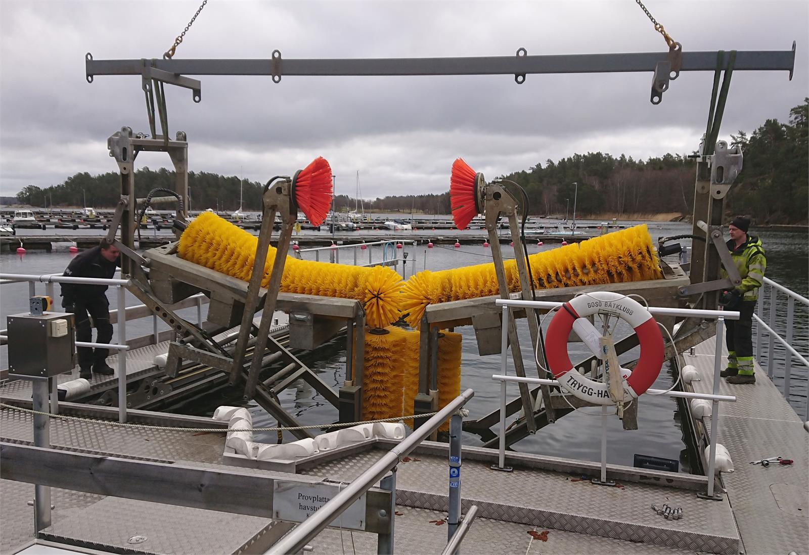 Bosö båtbottenvätt öppnar för sommaren 2021