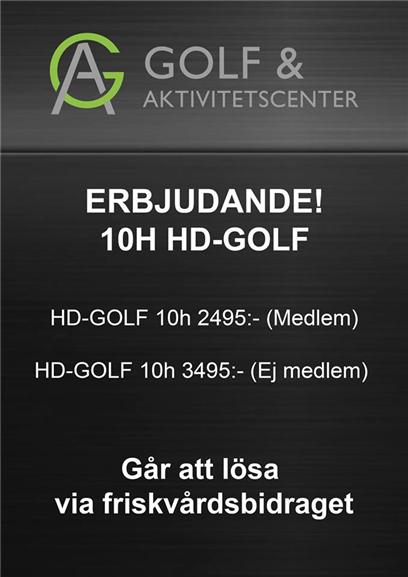 Erbjudande HD-GOLF 10h kort